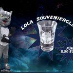 Schnapsglas Lola Merchandise