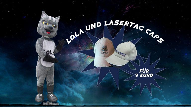 Cap Lola + Lasertag Hameln Merchandise