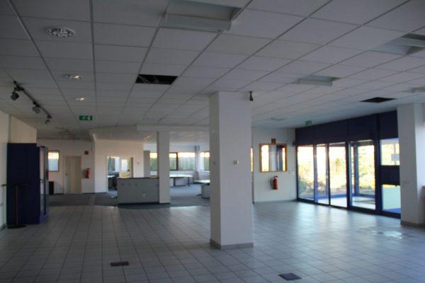 Rohbau-Eingangsbereich