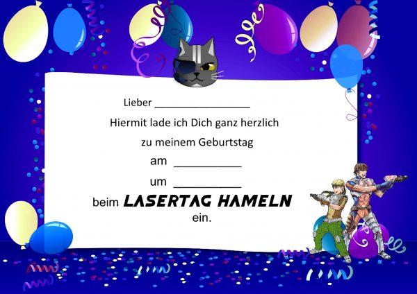 Geburtstag Kindergeburtstag Einladungskarten Jungs