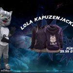 Kaputzenjacke Lola Merchandise